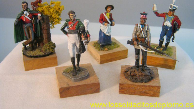 Art Girona-Officer,88th. Regiment Spain 1812,Cantiniere,Musician 15th Line 1815,4th.Kings Cavalry,Bavaria1812.74th.Foot Highlanders,Sou