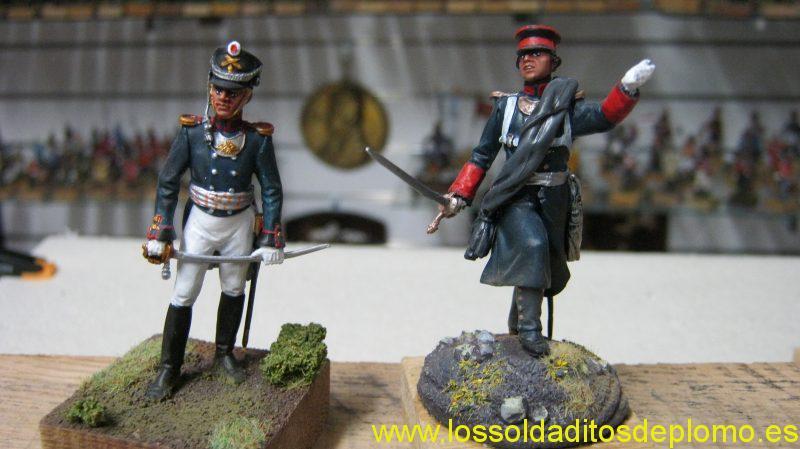 Artillery Officer and Pernovschiy Regiment,1812 by Pegaso
