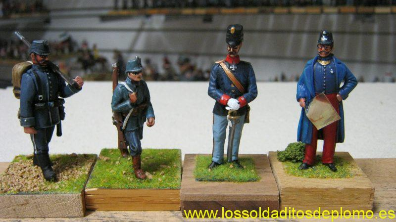 Austrian Infantry by Series 1857&Holger Ericsonn ,Officers by GTM and Ensign Miniatures