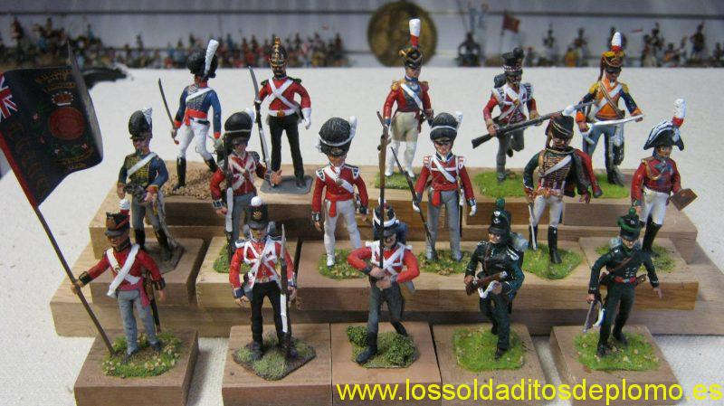 British Forces from Hinton Hunt