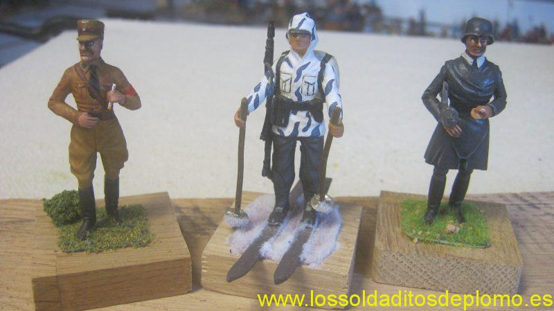 Brown Shirt -1938,Ski Trooper -1940 ,Volkstrum -1945, from Lasset Range
