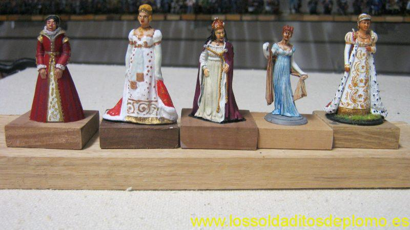 Catherine of Aragon by Phoenix.Marie Louise by Vertunni.Catherine of Valois by New Hope.Josephine de Beauharnais by