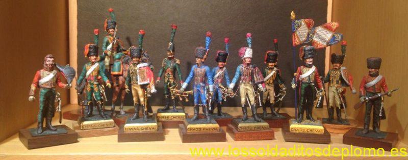 Cazadores a caballo de la guardia imperial