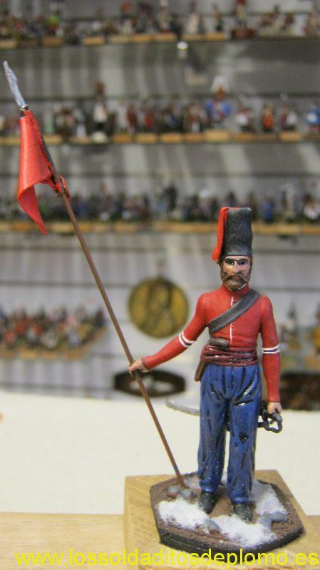 Cossack 1812 from Lasset Jubilee Range 70mm