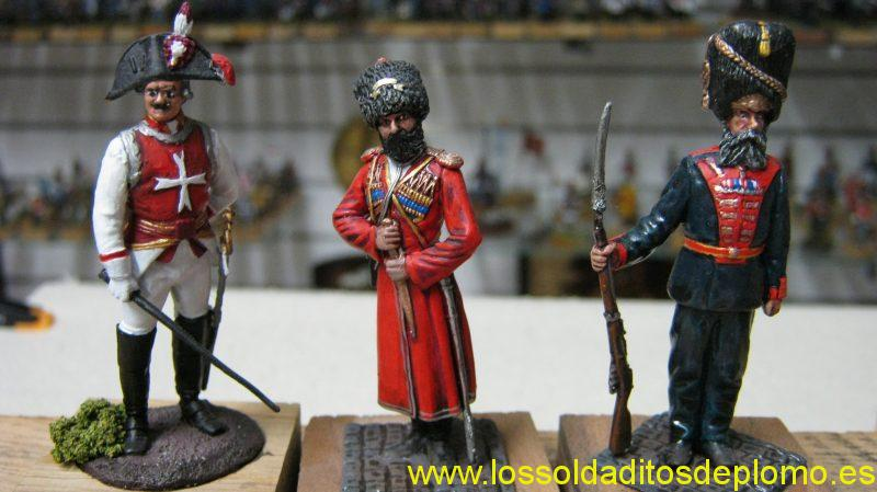 Cuirassier,Escort Cossack,Palace Guard Grenadier by ANT( Russia)
