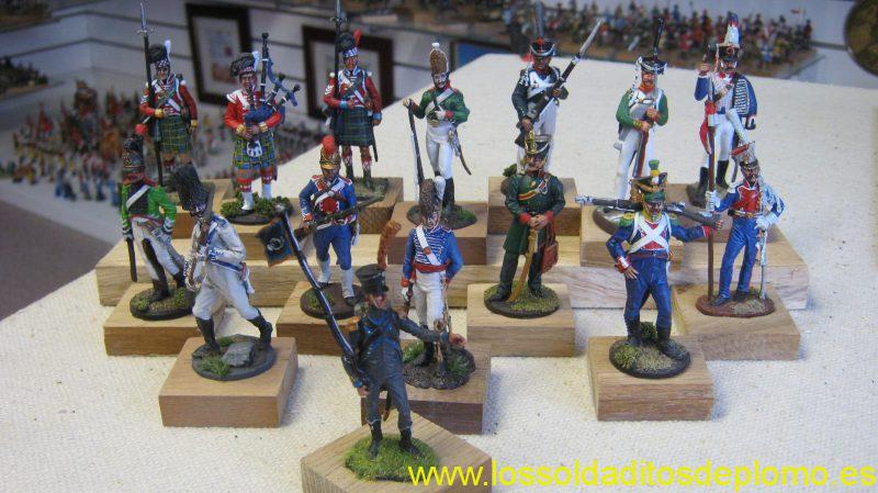 E.K.Castings (Siberia)-Other Napoleonic Armies ,Scottish, Russian ,German States,Polish,Spanish English,and Swedish