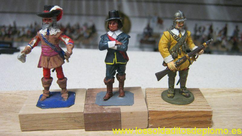 ECW-Cavalier By Hinton Hunt and Roundheads by Ensign and Phoenix