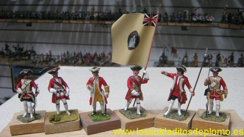 English Army 1700's Marlborough