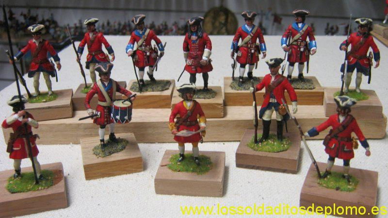 English Army 1700's Marlborough 2