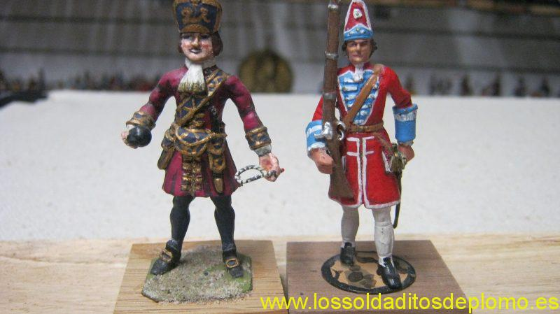 English Army 1700's by Hinton Hunt and Alymer