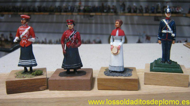 First Aid Nursing Yeomanry(FANY)1900, by Ensign,FANY By Stadden,Nurse(QAIMNS) by Ensign,Royal Army Medical Corps by Eagle Miniatures