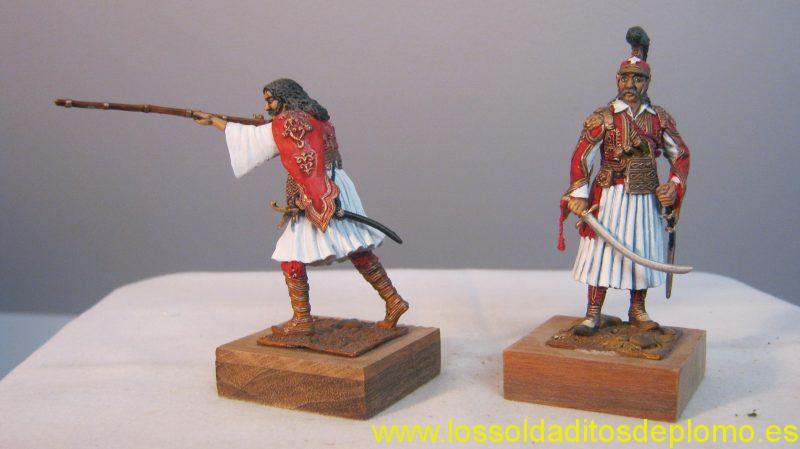 Greek Heros- Kyriakoulis Makromihalis and Theodoros Kolokojronis