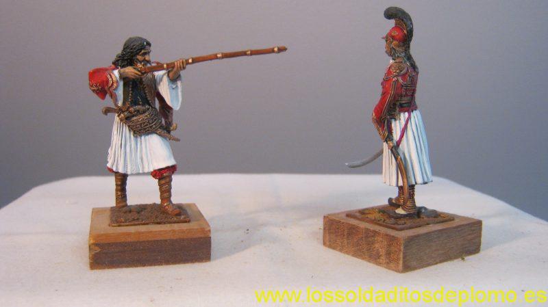Greek Heros- Kyriakoulis Makromihalis and Theodoros Kolokojronis -b