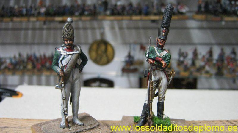 Grenadier Pavlovsky by Romeo Models and Saint Petersburg Grenadier by Andrea