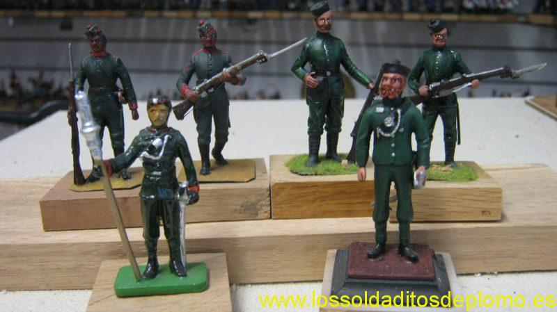 Gurkha's 1940 by Stadden, India 1880 by Eagle Miniatures and Jadamar by Britains