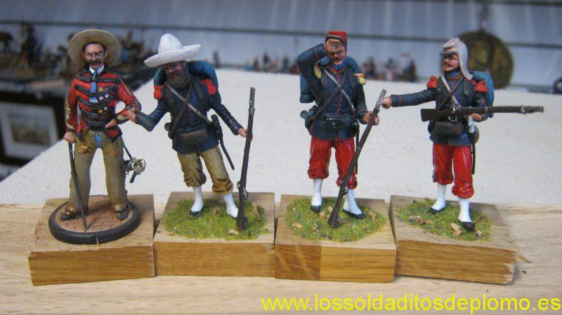 French Army in Mexico by Le Cimier