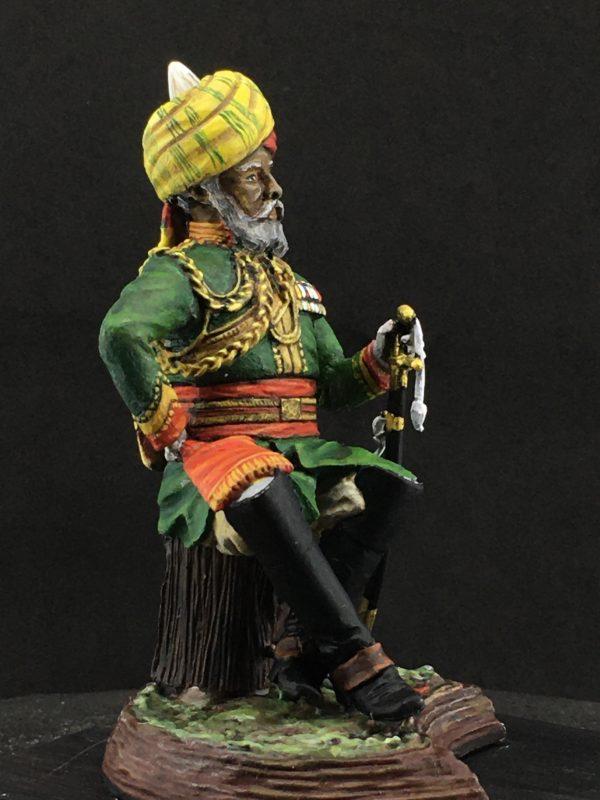 Series 77, Native Lancer Officer India, 1883