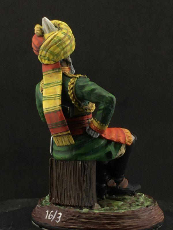 Series 77, Native Lancer Officer India, 1883-1