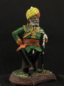 Series 77, Native Lancer Officer India, 1883-4