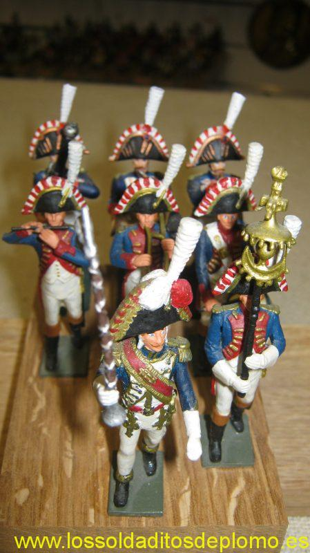 Imperial Guard Musicians ,1815 by Prince August
