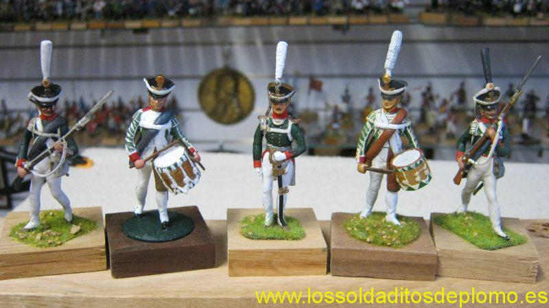 Infantry,Imperial Russian Army 1812 by Stadden