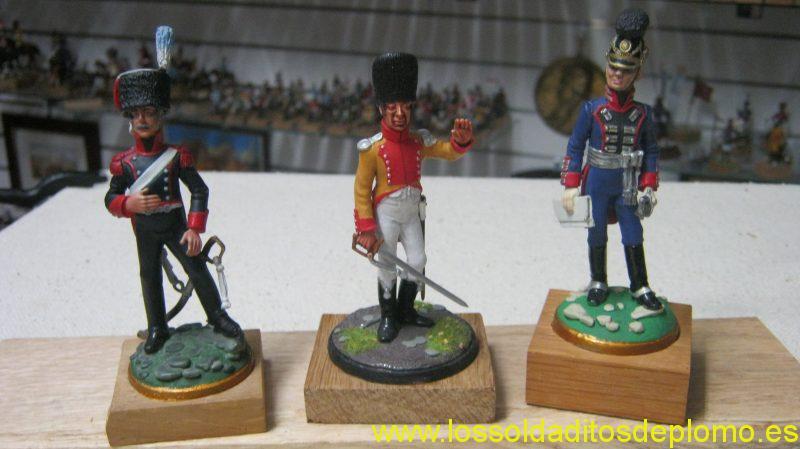Julian Benassi 70mm -French Horse Artillery 1815.Neauchatel Regiment 1800.Bavarian Horse Artillery 1815.