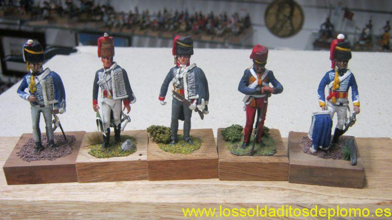 Lasset British Hussars ,1800's