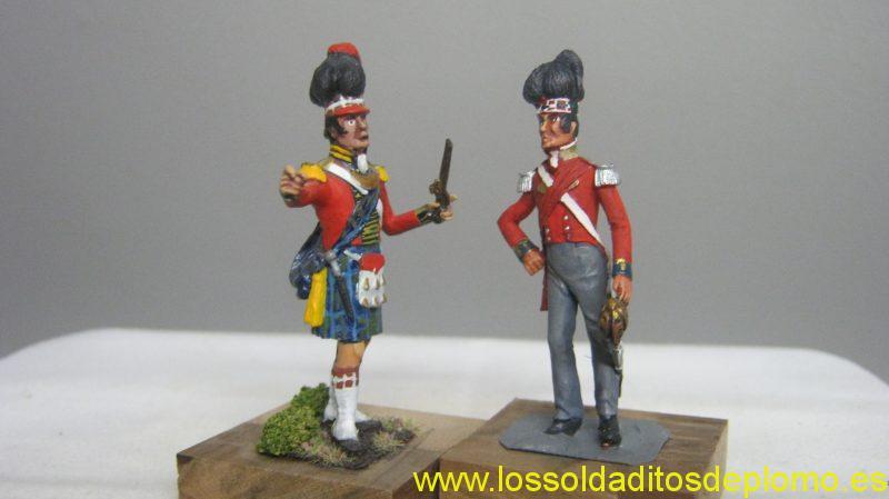 Lasset -Scottish Regiments,Spain 1809