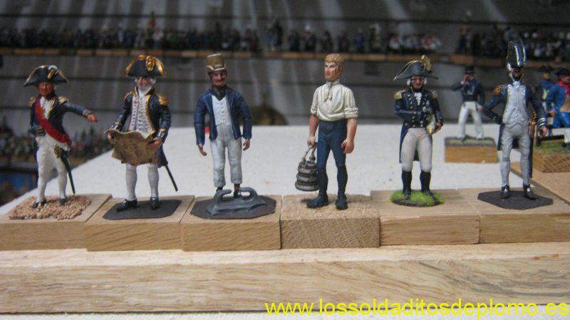 Lord Nelson ,Admiral,Seaman,Gunner by Stadden.Lord Nelson by Monarch(US).Midshipman by Hinton Hunt