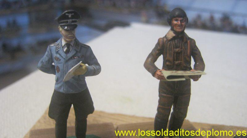 Luftwaffe Pilots ,1940 from Lasset Range