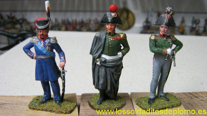 Platov,Bennigsen,Kutisov ,Imperial Russian Army 1812,from Neina Studios
