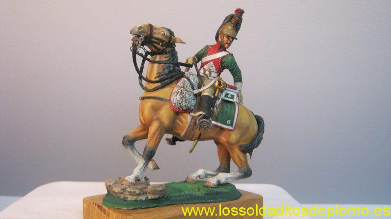 Poste Militaire 90mm -Empress Dragoon 1815