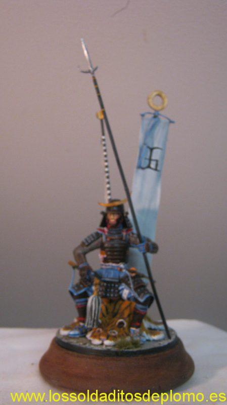 Poste Militaire 90mm-Samurai Momoyama Period