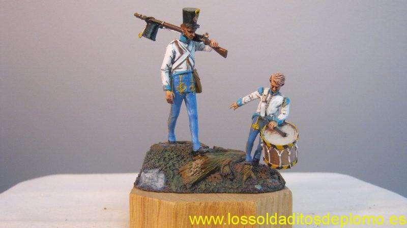 Resination(Hungary)Astro-Hungarian Infantry 1809(Metal)