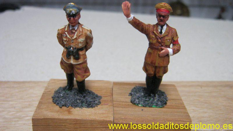 Rommel and Hitler by Roco Minatures(Austria)