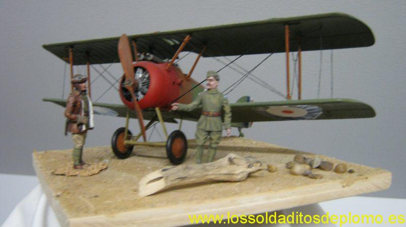 Royal Flying Corps,figures by Stadden