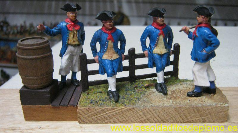 Royal Navy,1740 by Ensign