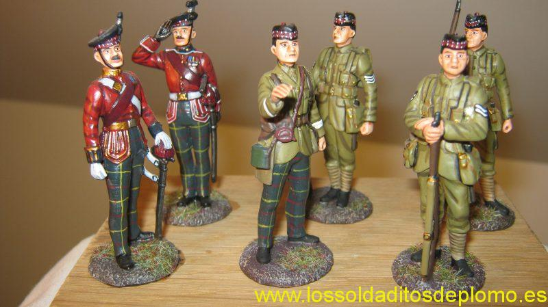 Royal Scots Quintinshill Memorial Set.(Troops were killed in train crash in Scotland travelling to France) by Empire Minatures
