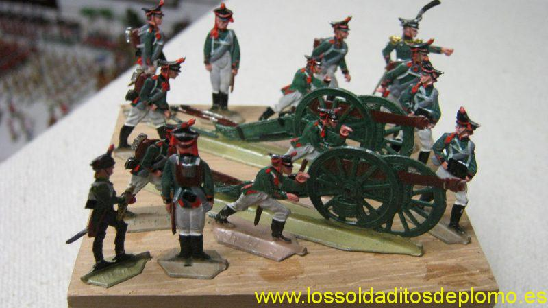 Russian Artillery ,1812 -35mm Flats by M&F(England)