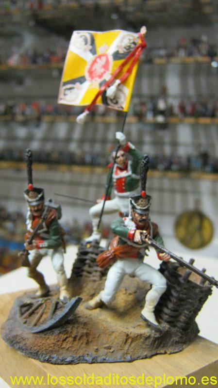Russian Grenadiers ,Borodino 1812 by M-Models(Poland)