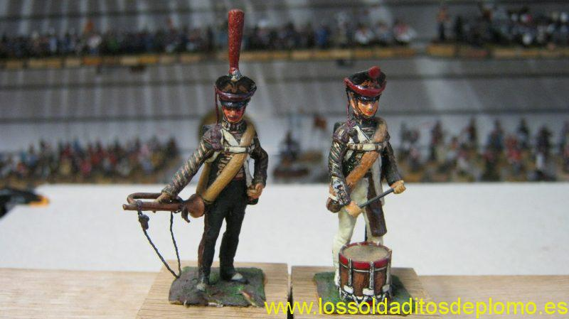 Russian Infantry And Foot Artillery Drummers 1812 by Stadden