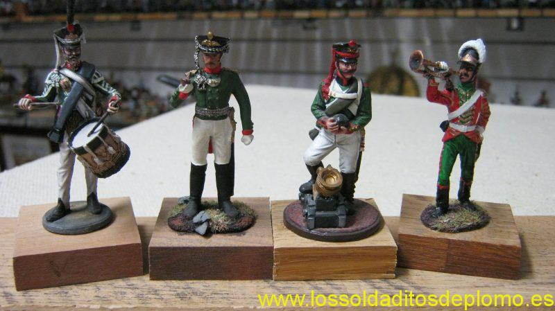 Russian Line Infantry and Cuirassier by EK Castings