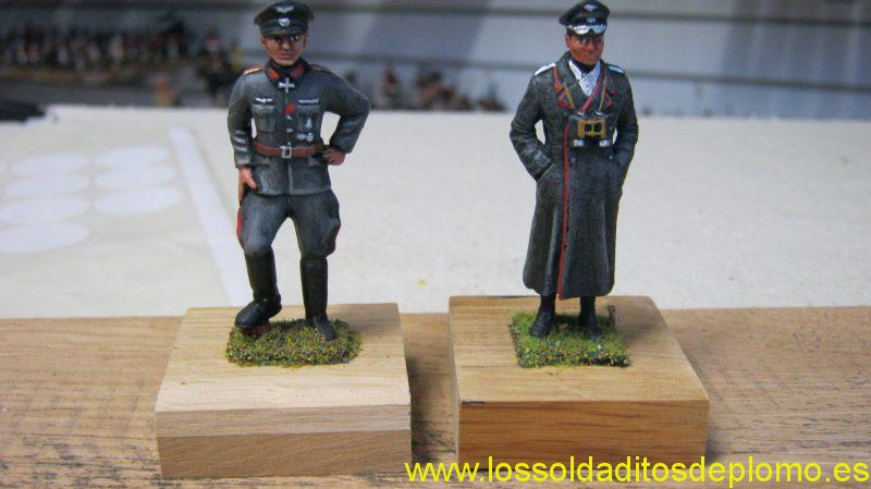 SS Colonel by CJB of Hull and Rommel from Lasset Cameo Range