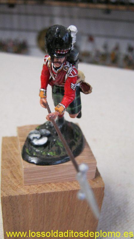 Sargeant Gordon Highlanders 1815 by GNM