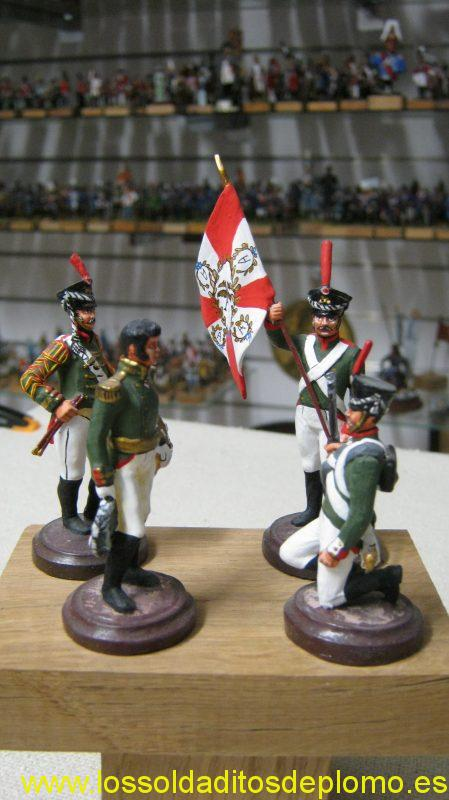 Semenovski Regiment ,Imperial Russian Army 1812 by EK Castings(Siberia)
