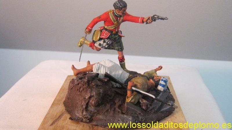 Shetland Isle Toy an Model Soldier Company -Gordon Highlanders ,Afghan War 1878