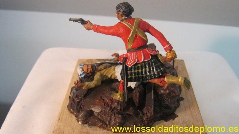 Shetland Isle Toy an Model Soldier Company -Gordon Highlanders ,Afghan War 1878 -b