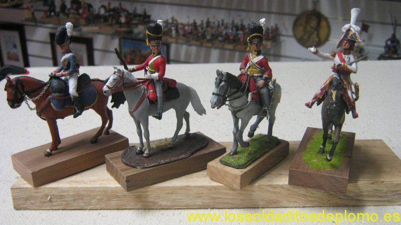 Stadden-RHA Artillery Train 1815. Phoenix -Scots Greys 1815. Hinchliffe-Scots Greys 1815. Phoenix- Murat,1806