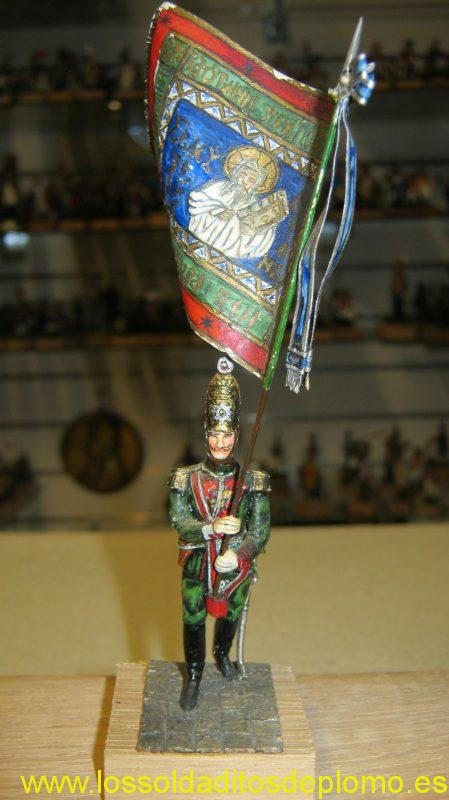 Standard Bearer Pavlovski Regiment 1812 by Stadden