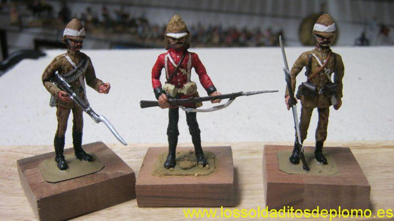 Sudan War 1885-British Infantry by Hinton Hunt